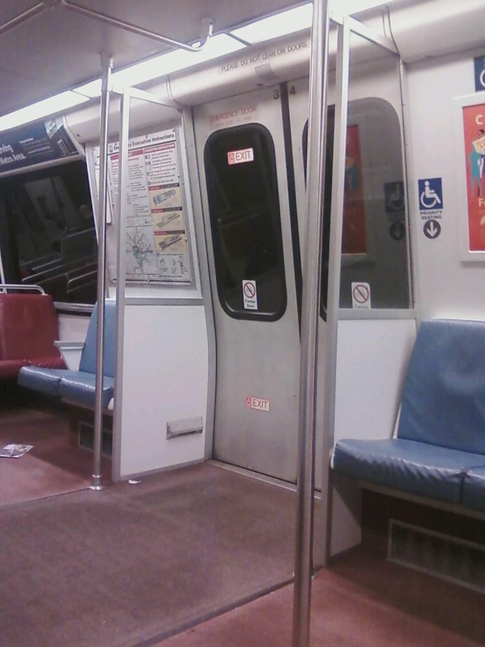 Door partition in a WMATA/DC Metro 2000 series car. Note this partition includes & Fix the WMATA/DC Metro 7000 Rail Car Interior! Stop DC Metro From ...
